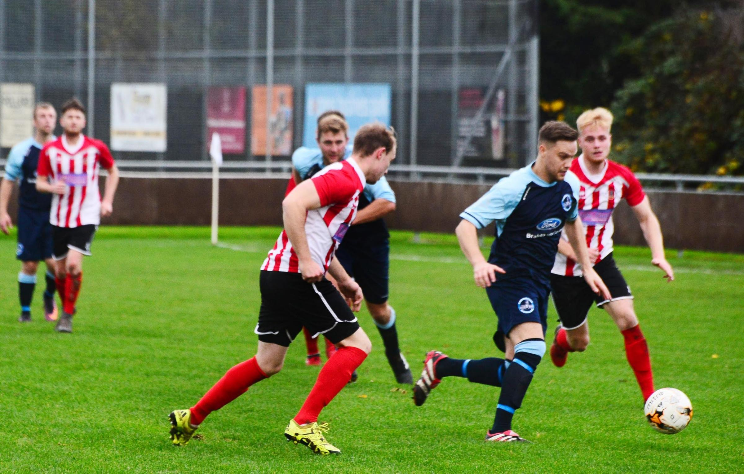 BACK-TO-BACK: Ilminster Town are looking to build on last weekend's win. Pic: Steve Richardson