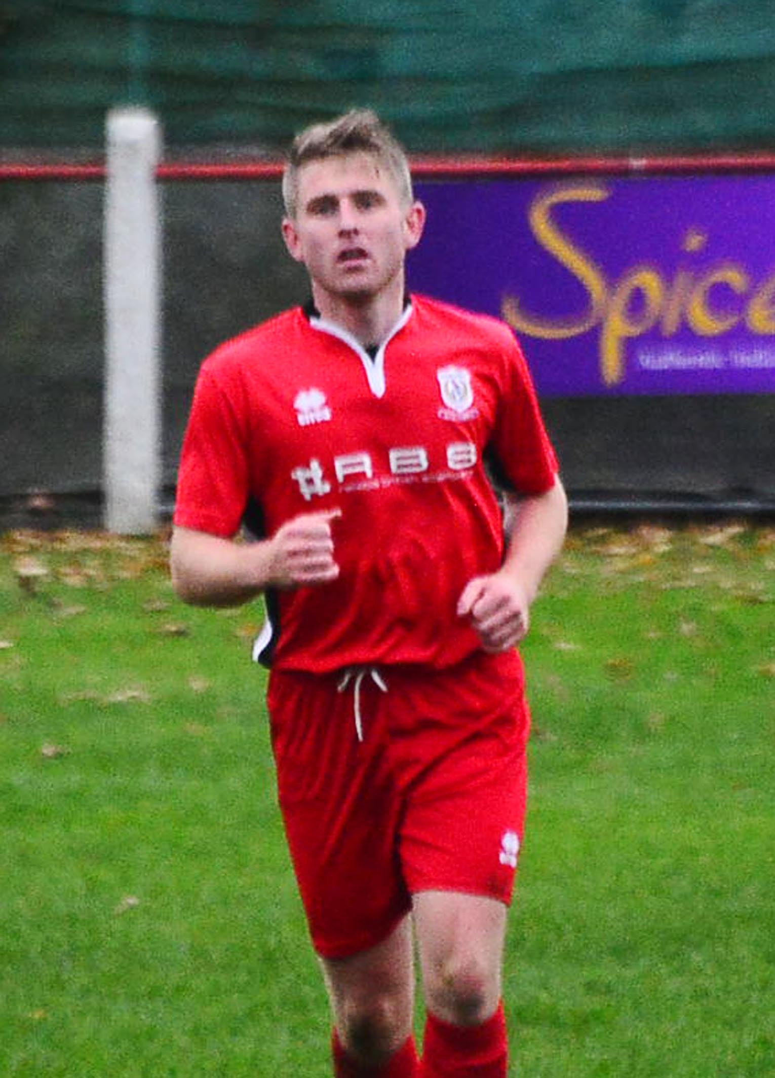 MIDFIELD MAESTRO: Nathan Warren played a key role in Chard Town's winner against Devizes Town. Pic: Steve Richardson