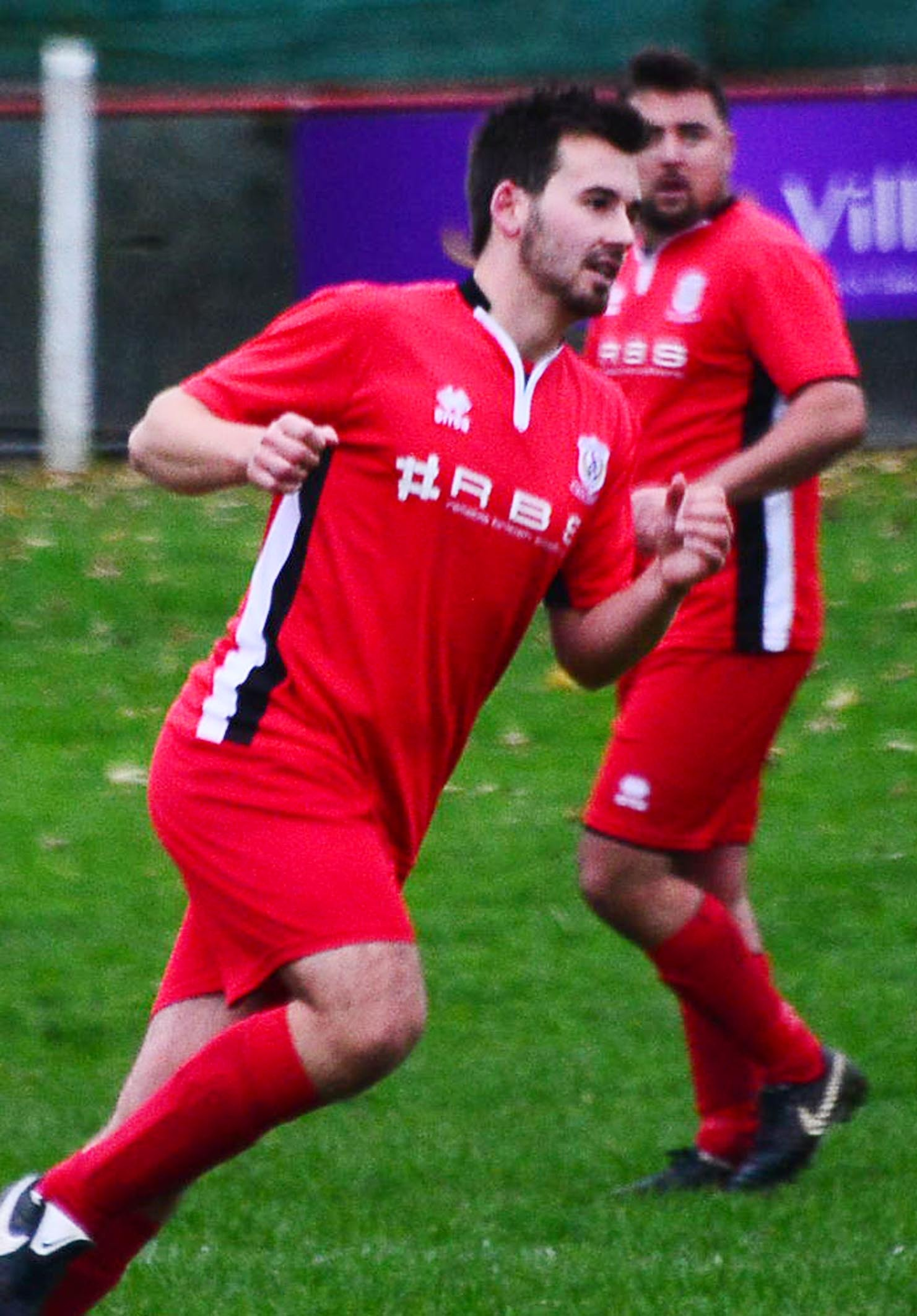 DOUBT: James Boyland could miss Chard Town's match tomorrow. Pic: Steve Richardson