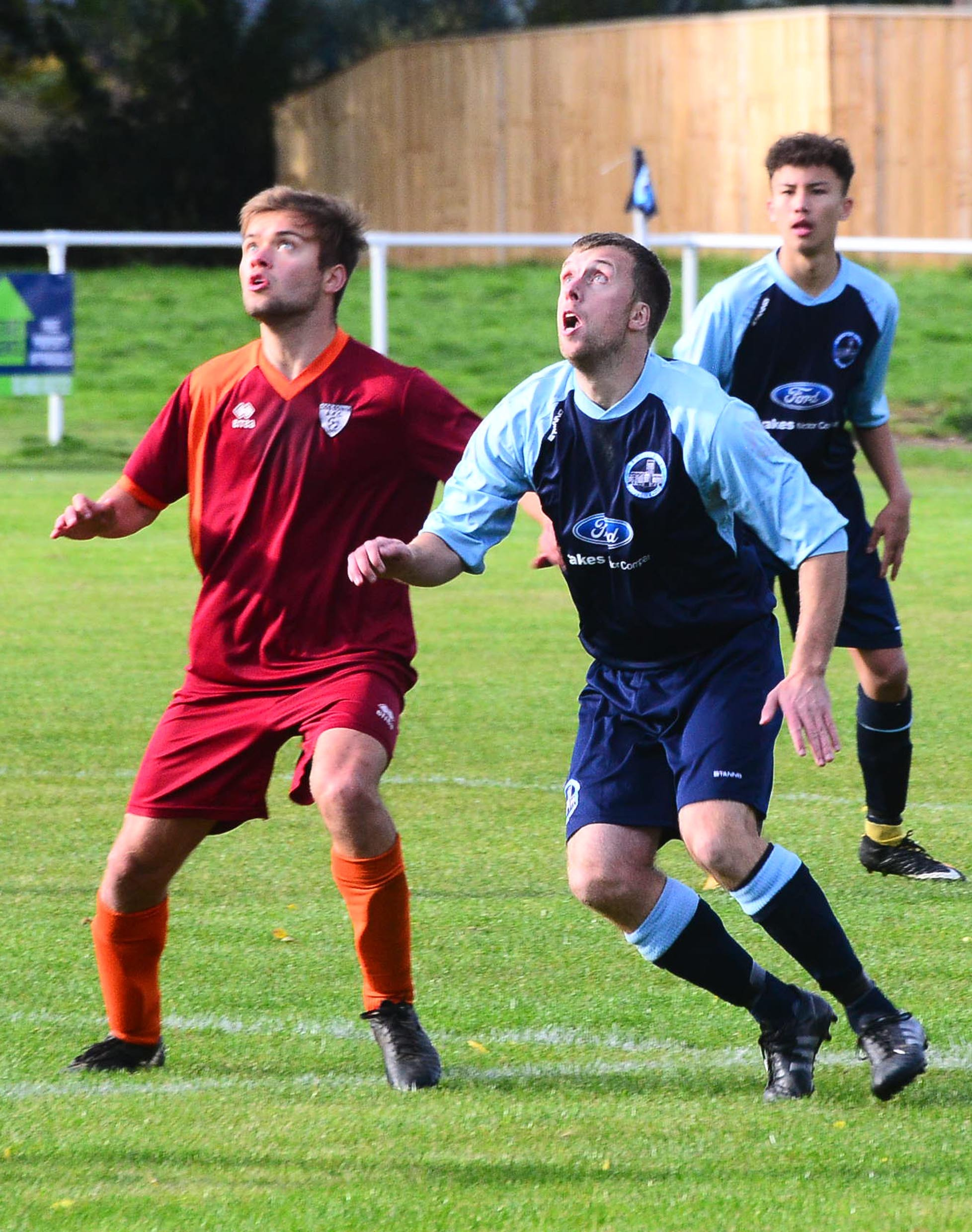 DEFEATED: Missed chances proved costly for Ilminster Town at Chilcompton