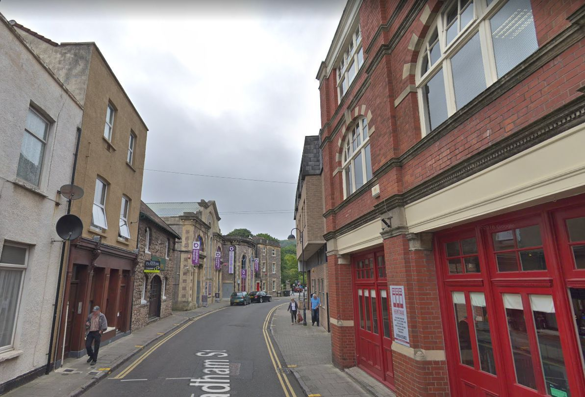 WADHAM STREET: The road where the man's body was found