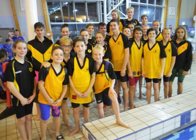 SMILES: Chard & District Swimming Club youngsters