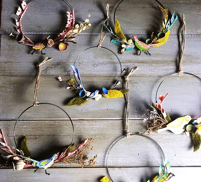 Natural Wreath Making workshop with Lily Faith at Braziers, Wellington