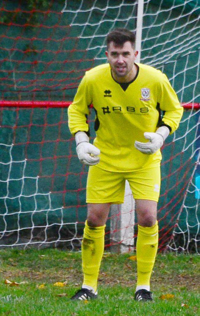 BEATEN: Despite some good saves from goalkeeper Scott Wells-Burr, Chard Town lost again on Saturday.