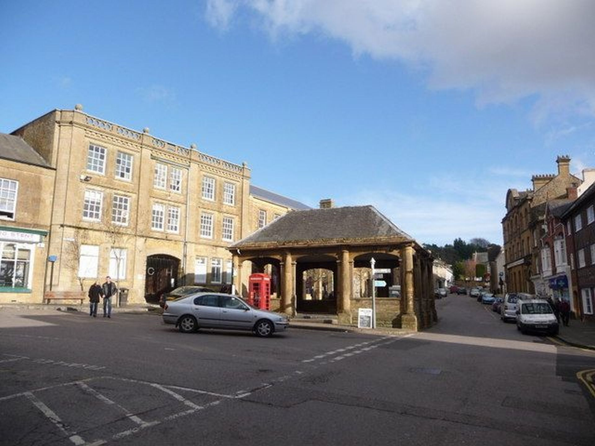 PLANS IN PLACE: The event is being run from The Market House in Ilminster