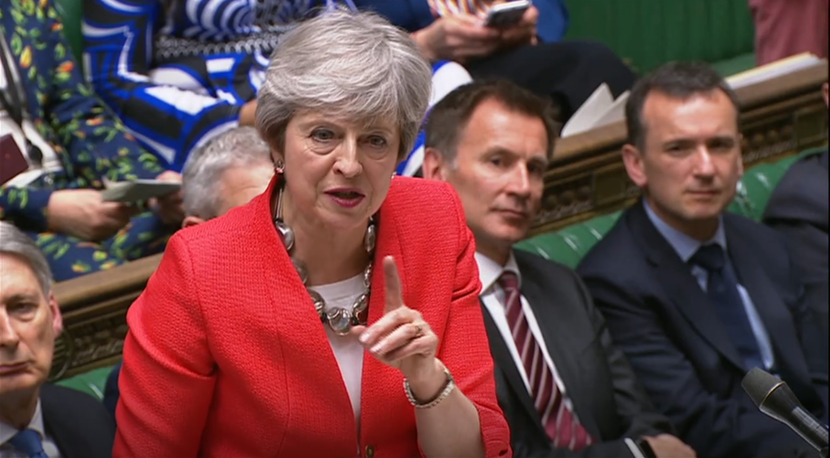 DEFEAT: Prime Minister Theresa May. PICTURE: House of Commons/PA Wire