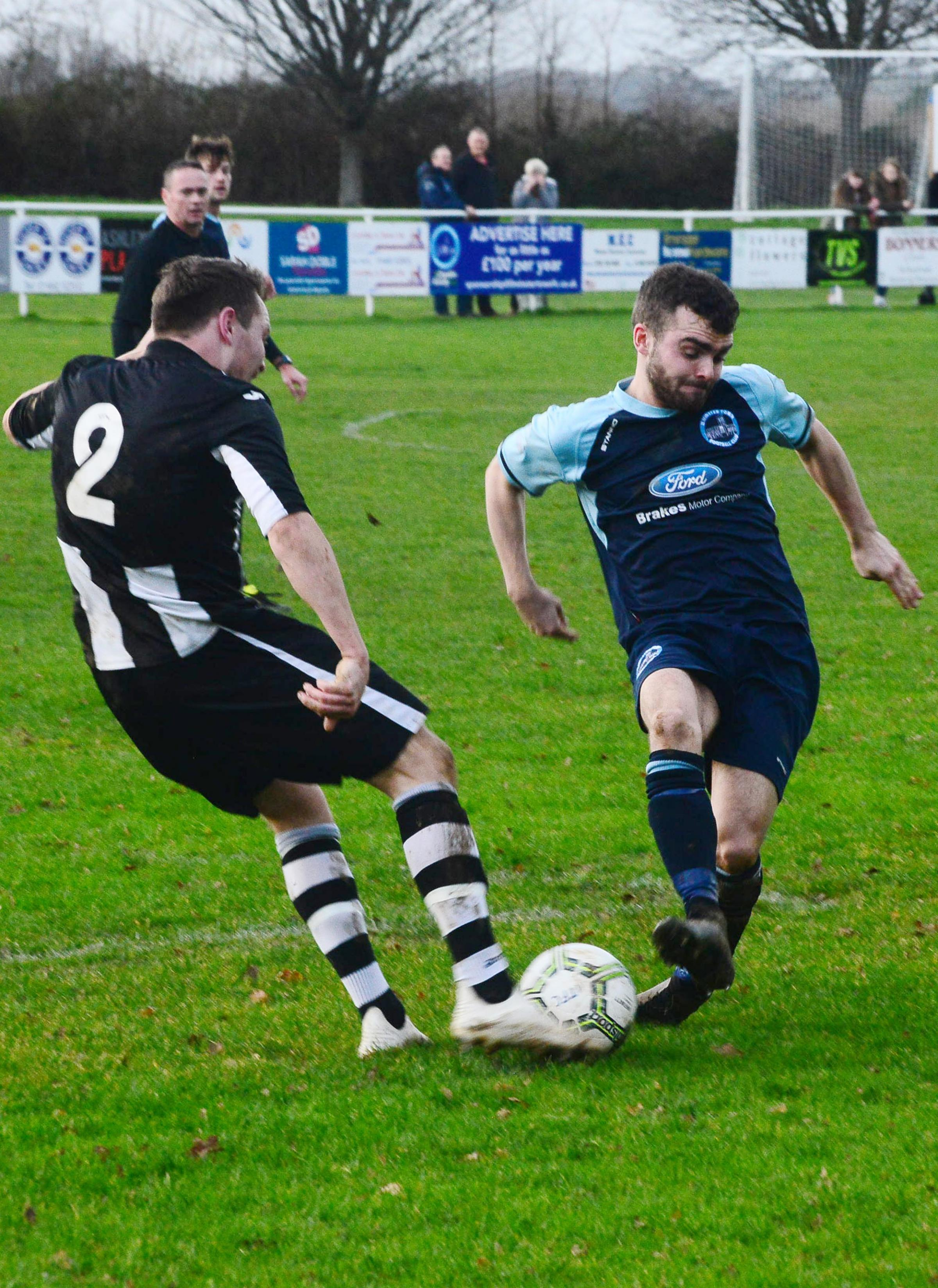 IMPACT: Ilminster's Taylor Jefferson, who scored one and made one after coming off the bench. Pic: Steve Richardson