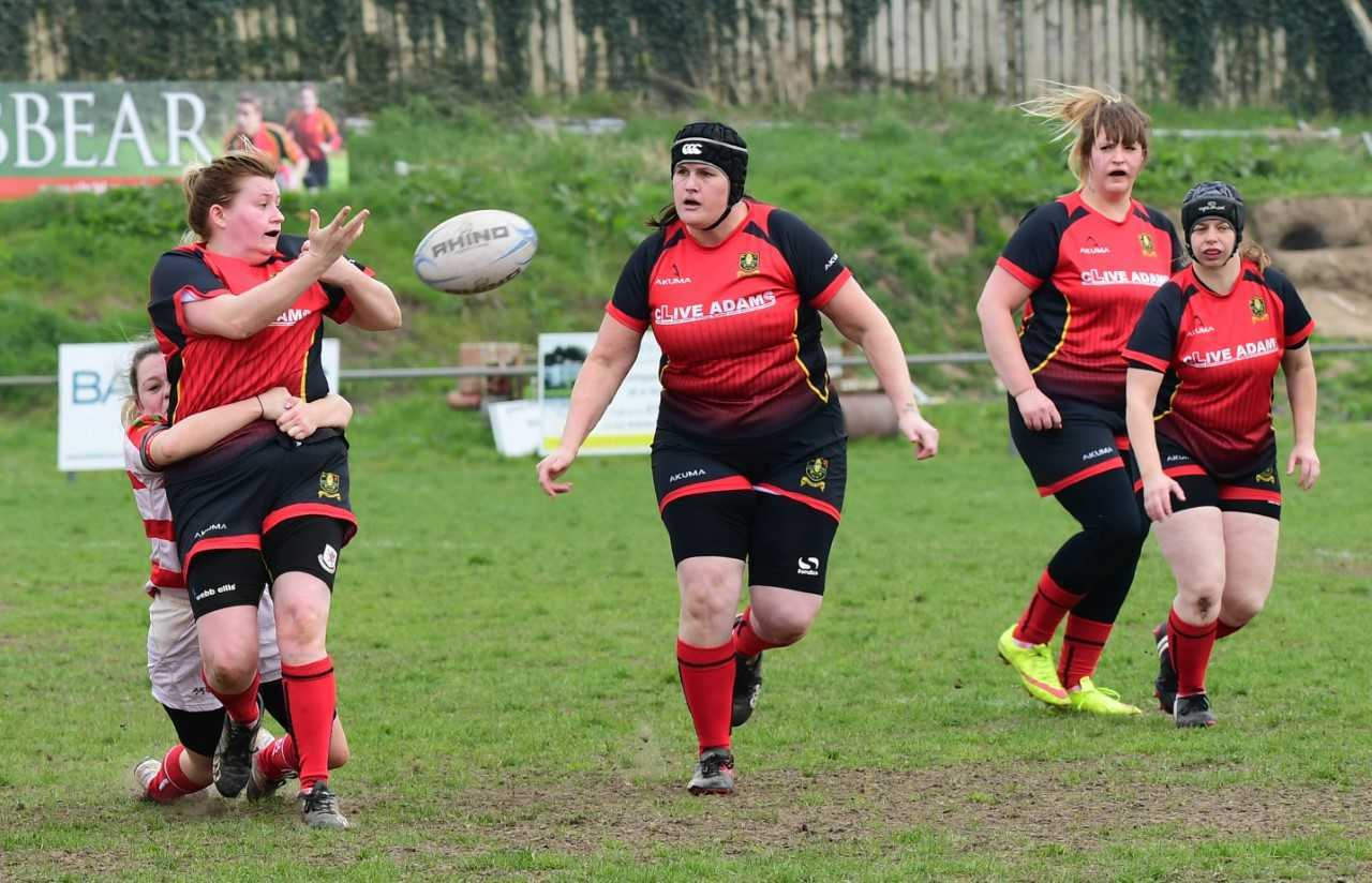 PULSATING: Chard Ladies' match with Bideford was an exciting affair. Pic: Gary Bide Photography