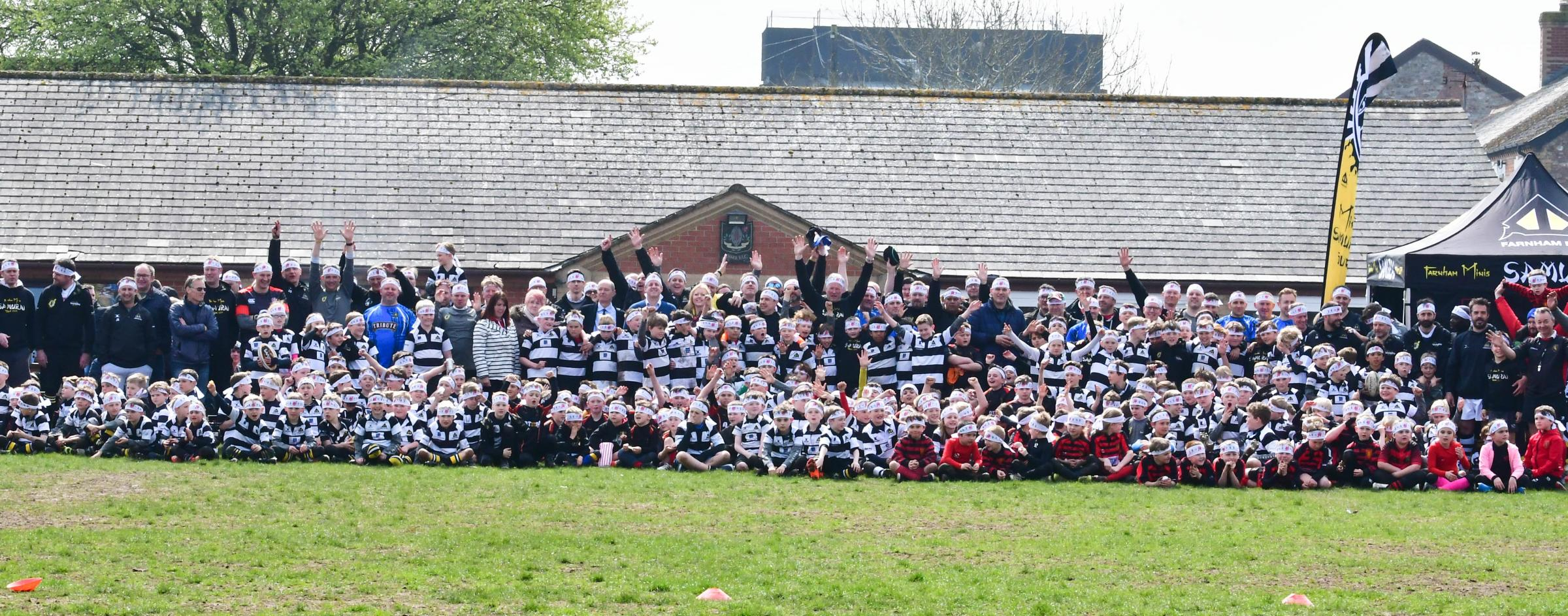 Chard RFC youth. Pic: Gary Bide