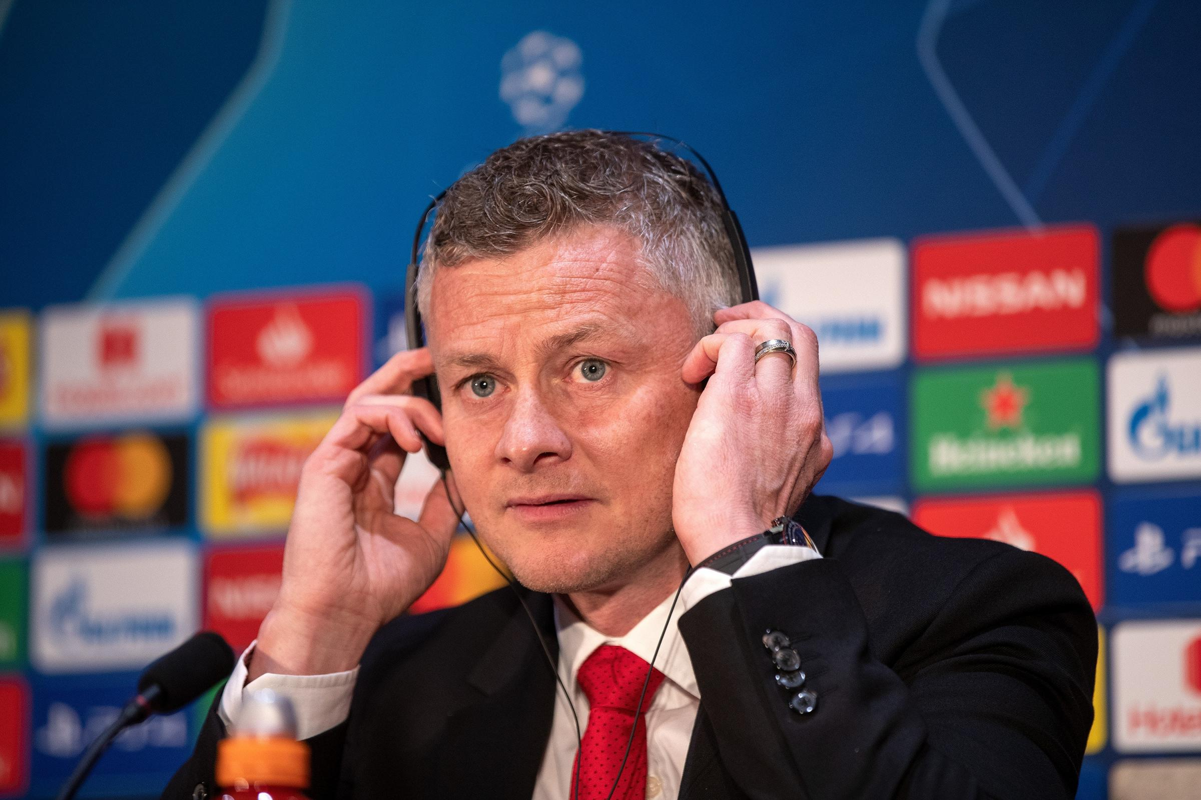 Ole Gunnar Solskjaer is demanding more from some of his players