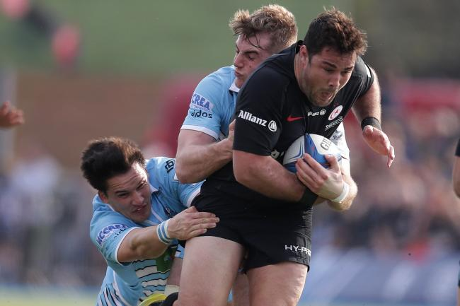 Brad Barritt is fit for Saracens' Champions Cup semi-final