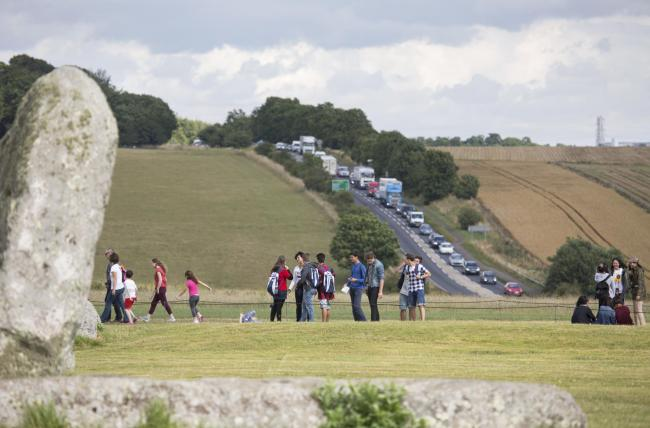 PLAN: Traffic is a major problem around Stonehenge. PICTURE: Highways England