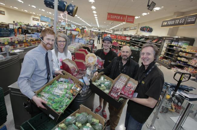 HANDOVER: Aldi is giving surplus food to good causes