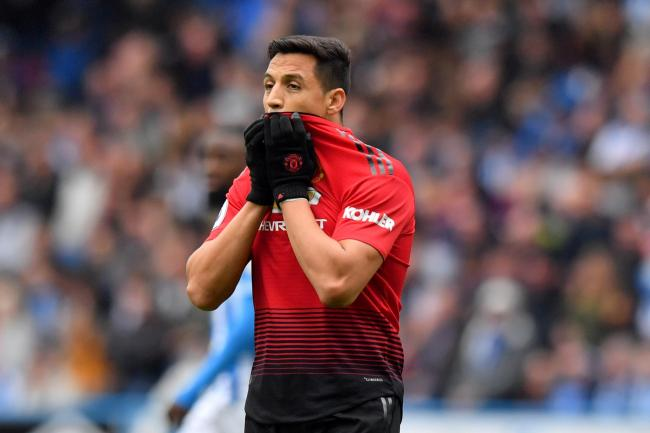 Alexis Sanchez has endured a torrid time at Manchester United