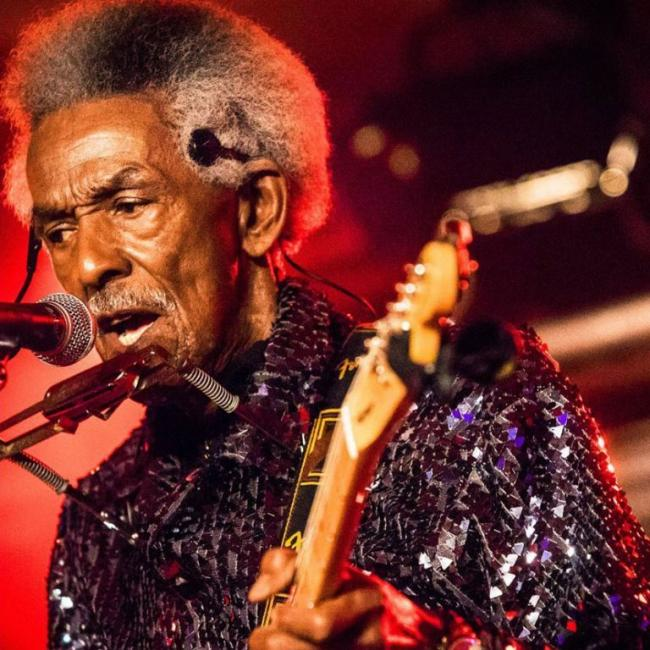 BLUES STAR: L'il Jimmy Reed returns to Ilminster Arts Centre