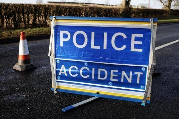 The A37 near Yeovil is cloosed due to the cash