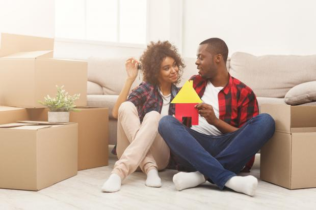 Chard & Ilminster News: BUYING: A couple in the process of buying a new home. Picture: iStock/PA