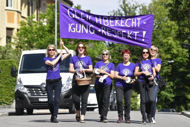 Switzerland Women's Strike