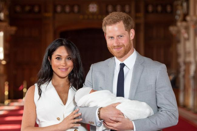 Harry, Meghan and Archie